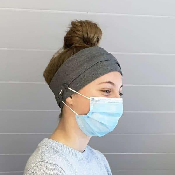 Nurse Headband - Headband with Buttons