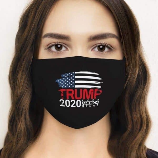 Reusable Trump Face Mask Made USA