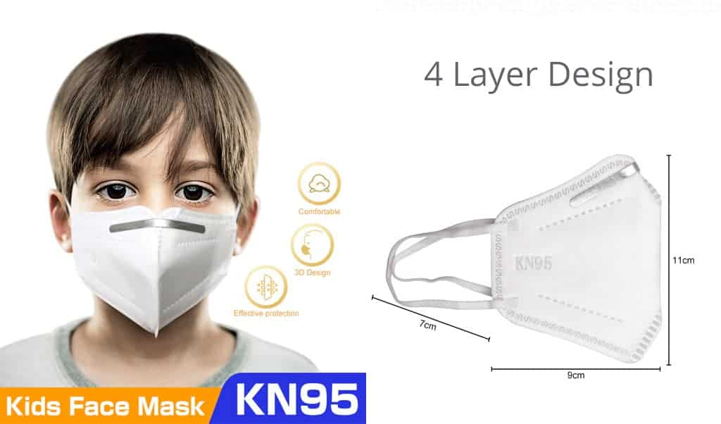 banner kid mask kn95