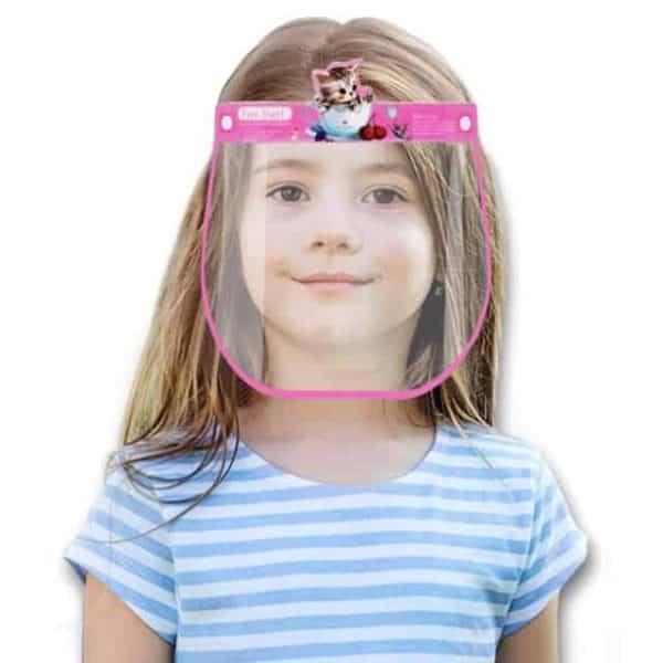 Kids Boys Girls Face Shield