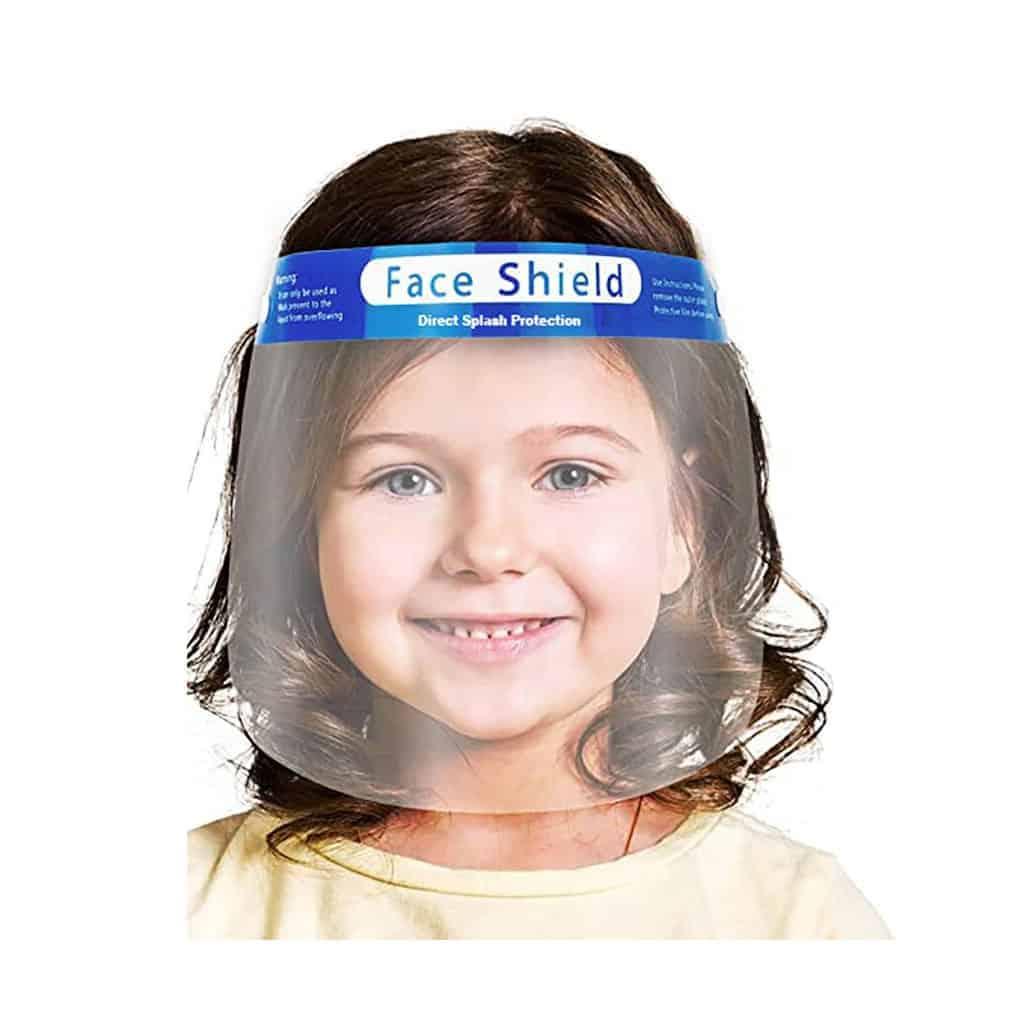 Children face shield