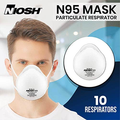 N95 Cup FACE MASK Filtration