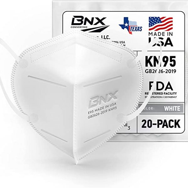 BNX KN95 face mask made in USA