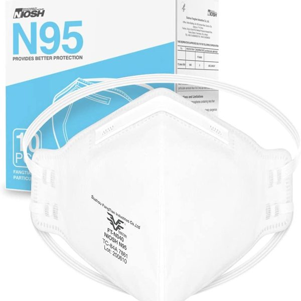 NIOSH Approved N95 Mask Particulate Respirator Universal Fit