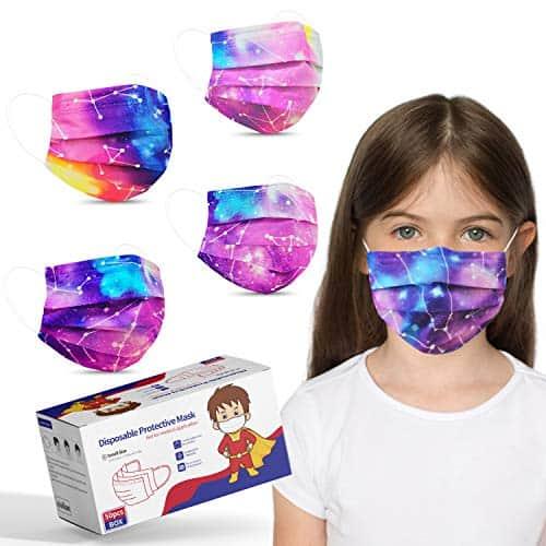 Kids Size Disposable Face Masks