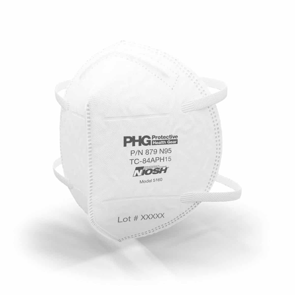 NIOSH Certified N95 Respiratory Particulate Filtering Face Mask, MADE IN THE USA, For Medical Professionals & Personal Protective Use, Comfortable Protection, Box of 20 Individually Wrapped Face Masks 5