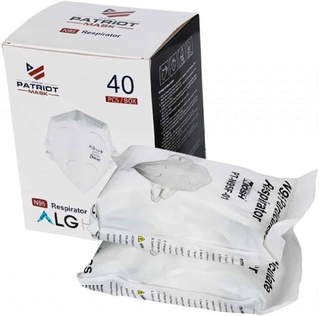 N95 foldable respirator
