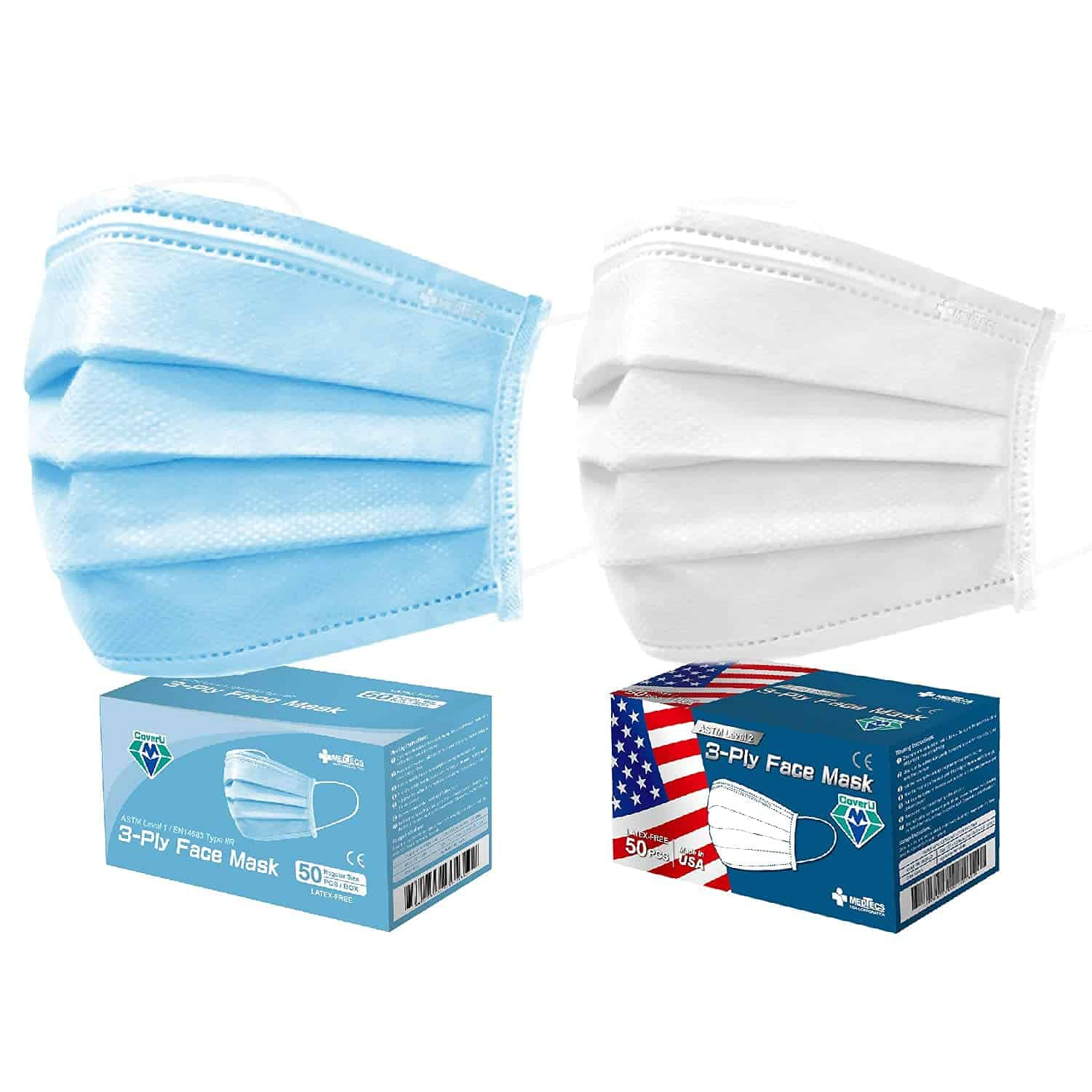 disposable surgical face mask made in USA