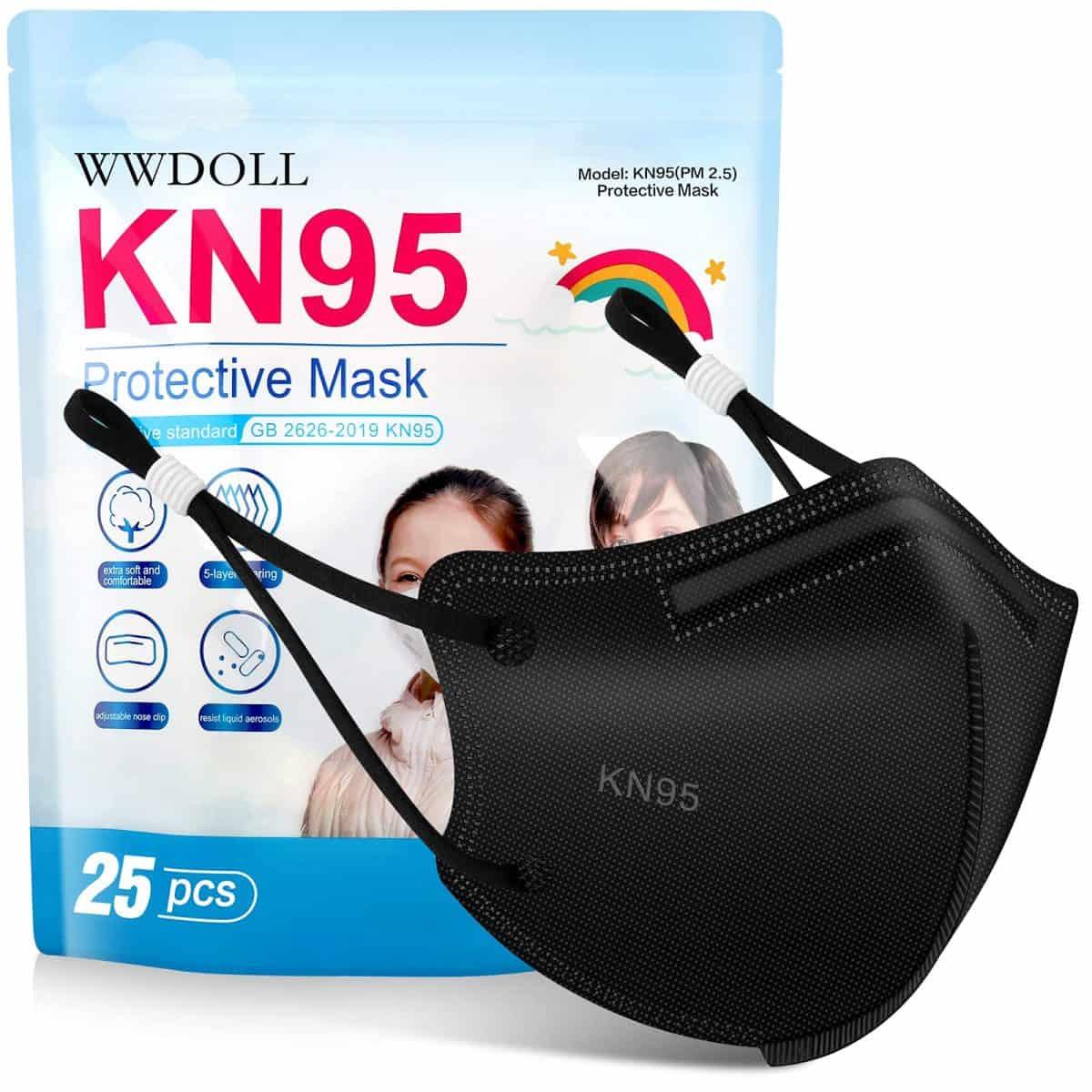 Kids KN95 face masks