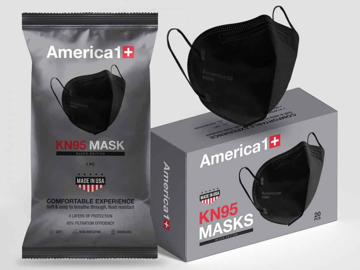KN95 Face Masks Made in USA