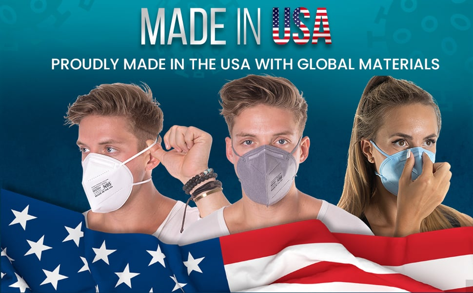 made in USA N95 Aidway